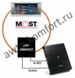 Интерфейс для интеграции процессора в шину MOST Alpine APF-800MOST