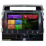 Штатная магнитола RedPower 21200B HD Android 4.4 для Toyota Land Cruiser 200 с GPS + Глонасс и 3G