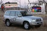 Магнитола для Toyota Land Cruiser 100 RedPower 51183 IPS DSP c DVD-приводом ANDROID 8+
