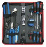 Набор инструментов универсальный, зип-кейс, 43 предмета KING TONY 92543MR
