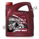 Трансмиссионное масло Favorit Syntgear GL-5 SAE 75W-90 (4л)