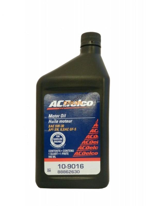 Ac Delco Motor Oil Sae 5w 30 0 946