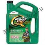 Моторное масло QUAKER STATE Advanced Durability SAE 5W-30 (4,83л)