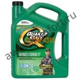 Моторное масло QUAKER STATE Advanced Durability SAE 10W-30 (4,83л)