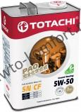 Моторное масло TOTACHI Grand Racing Fully Synthetic SN/CF SAE 5W-50 (4л)