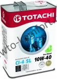 Моторное масло TOTACHI Eco Diesel Semi-Synthetic CI-4/CH-4/SL SAE 10W-40 (4л)