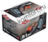 Автосигнализация KGB FX-5 ver.2 автозапуск, ЖК-пейджер, сирена