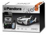 Автосигнализация PANDORA DXL 3940 2хCAN + GSM + LIN + ЖК + брелок-метка, автозапуск