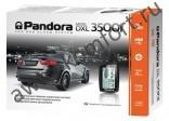 Автосигнализация PANDORA DXL 3500i автозапуск, ЖК-пейджер