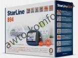 Автосигнализация STARLINE B94 GSM 2CAN, Slave автозапуск, ЖК-пейджер, сирена, обходчик