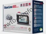Автосигнализация STARLINE A93 CAN-LIN автозапуск, ЖК-пейджер, сирена