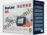 Автосигнализация STARLINE A94 GSM 2CAN Slave автозапуск, ЖК-пейджер