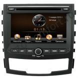 Штатная магнитола Intro CHR-7769 SY с GPS и 3G для SsangYong Actyon 2011+ (IE)
