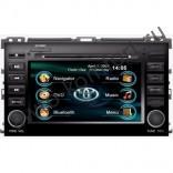 Штатная магнитола Intro CHR-2272 PR с GPS и 3G для Toyota Prado 120