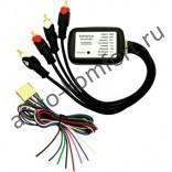 Адаптер подключения штатного усилителя Toyota / Lexus Intro AMP-TY01