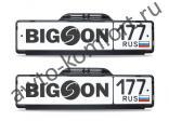 Камера заднего вида в рамке номерного знака BIGSON iCam-2000